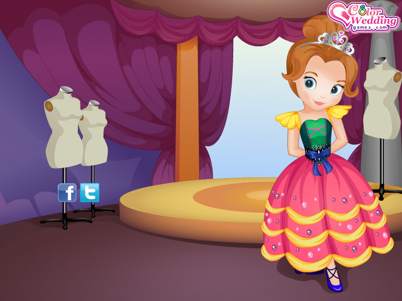 Prenses Doğum Günü Elbisesi